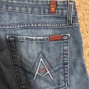 """Seven For All Mankind """"A"""" Pocket size 31"""
